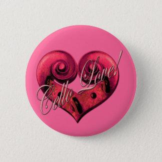 cello love 2 inch round button
