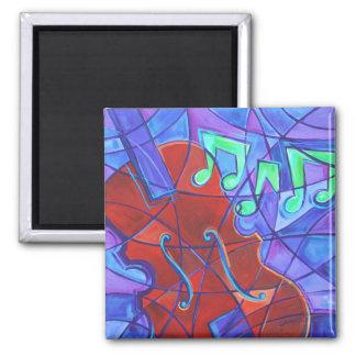 Cello Mosaic Magnet