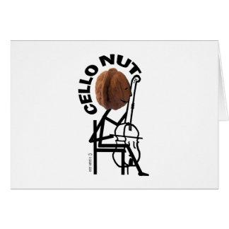 Cello Nut Card