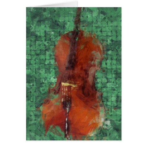 Cello On Green Card