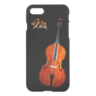 Cello Player Monogram iPhone 7 Case