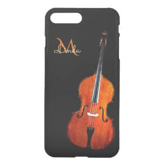 Cello Player Monogram iPhone 7 Plus Case