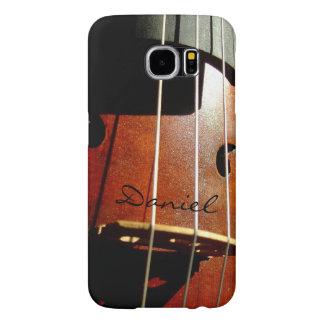 Cello Player Personalized Galaxy S6 case