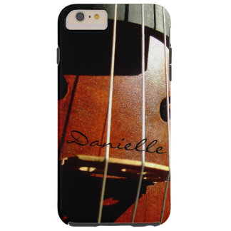 Cello Player Personalized iPhone 6 Plus Case