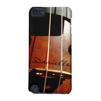 Cello Player Personalized iPod Touch Case