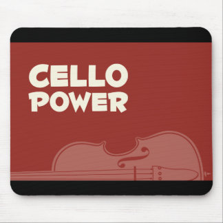 Cello Power! Mouse Pad