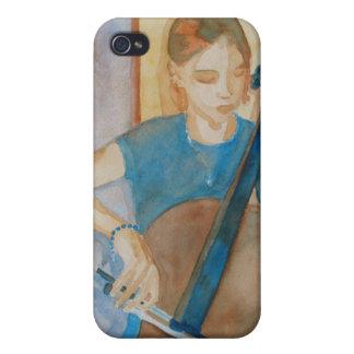 Cello Practice iPhone 4/4S Cases