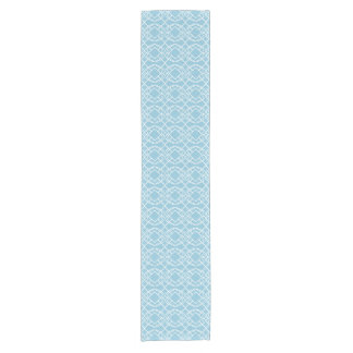 Cello Robins Blue Egg Trellis Design Short Table Runner