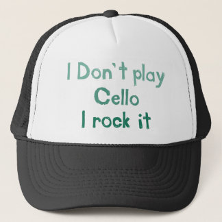 Cello Rock It Hat