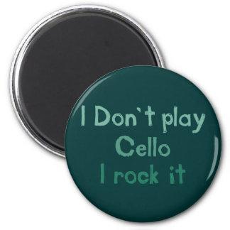 Cello Rock It Magnet