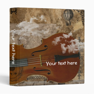 Cello Steampunk Suite Vinyl Binders