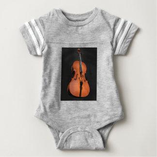 Cello Strings Stringed Instrument Wood Instrument Baby Bodysuit