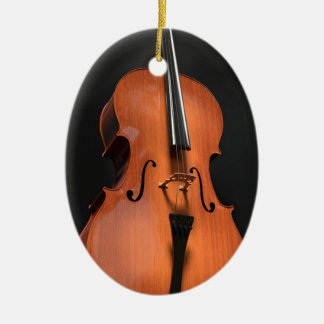 Cello Strings Stringed Instrument Wood Instrument Ceramic Ornament