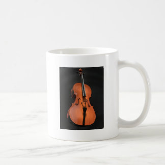 Cello Strings Stringed Instrument Wood Instrument Coffee Mug