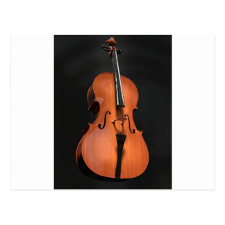 Cello Strings Stringed Instrument Wood Instrument Postcard