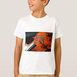 Cello Strings Stringed Instrument Wood Instrument T-Shirt