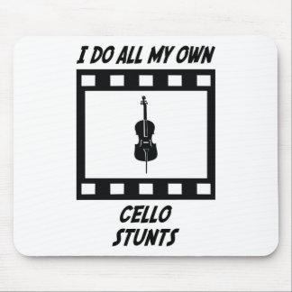 Cello Stunts Mouse Mat