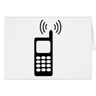 Cellphone Greeting Card