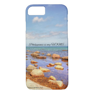 Cellphone case that depicts the Philippines
