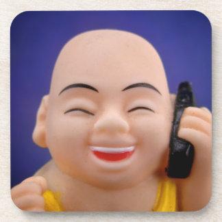 Cellphone Monk Coasters