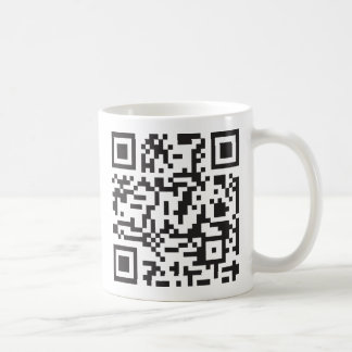 Cellphone serial number code classic white coffee mug