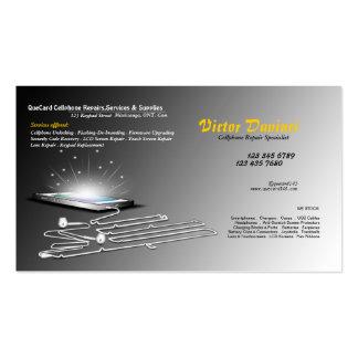Cellphone Unlocker Repair Servicing Business Card