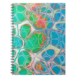 Cellular Abstract Pattern 11 Notebooks