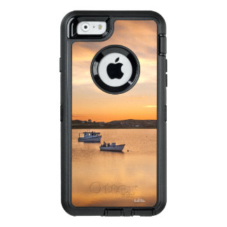 Cellular guard photo small boats OtterBox defender iPhone case