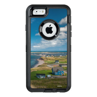 cellular guard photo village edge of the sea OtterBox defender iPhone case