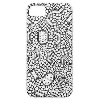 Cellular Indonesian Textile Pattern iPhone 5 Covers