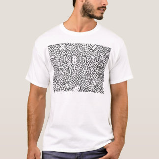 Cellular Indonesian Textile Pattern T-Shirt