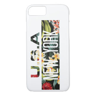 CELLULAR LAYER FLORAL NEW YORK Case-Mate iPhone CASE