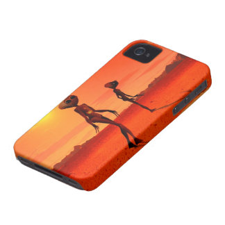 Cellular layer iPhone 4 ET Wasted iPhone 4 Case-Mate Cases