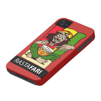 Cellular layer iPhone 4 Rastafari iPhone 4 Case