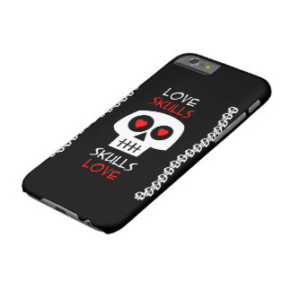 Cellular layer iPhone 6 Skulls Love Barely There iPhone 6 Case