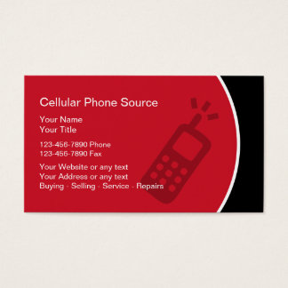 Cellular Phone Business Cards