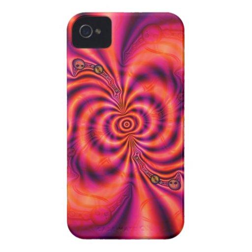 Cellular Spiral  Blackberry Case