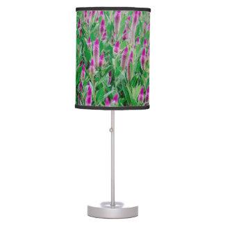 Celosia Flower Field Desk Lamp