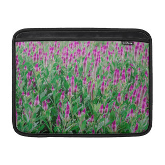 Celosia Flower Field Sleeve For MacBook Air