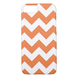 Celosia Orange Chevron Zigzag iPhone 7 Case