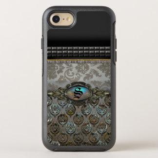 Celslinus Romantic Damask Pattern Monogram OtterBox Symmetry iPhone 7 Case