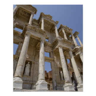 Celsus Library, built in AD 114-117 Poster