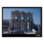 Celsus Library, built in AD 135 Poster