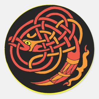 Celt Round Sticker
