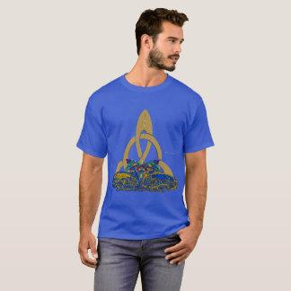 Celt Stone Cats Men's Dark T-Shirt