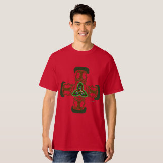 Celt Tree Cross Men's Tall T-Shirt
