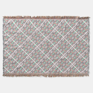 Celta print nº 2 throw blanket