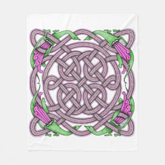 Celtic 13 fleece blanket