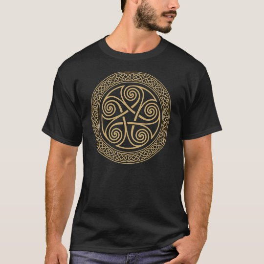 Celtic 5 Spiral Star T-Shirt