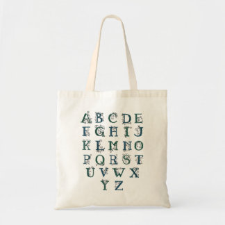 Celtic Alphabet bag